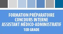 Formation préparatoire au concours interne assistant médico-administratif